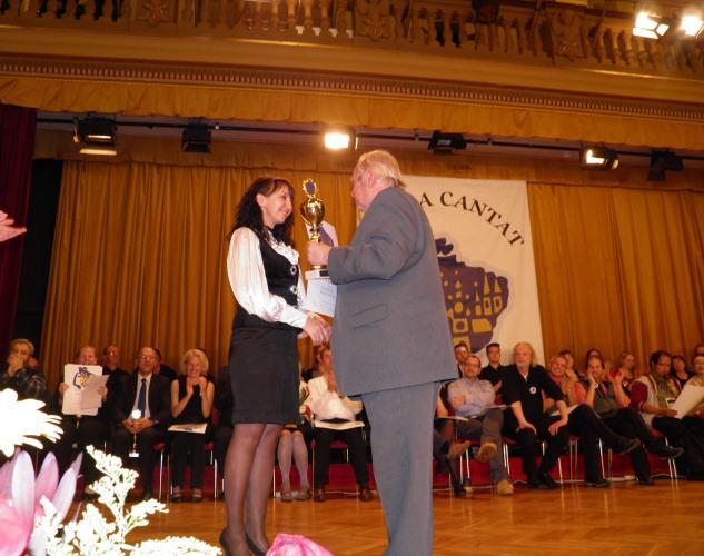 Художественный руководитель музыкантов, Наталья Шмарева-Гожая, была признана лучшим дирижером.