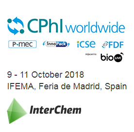 INTERCHEM SLC took part in the world's largest pharmaceutical exhibition - CPhI Worldwide 2018